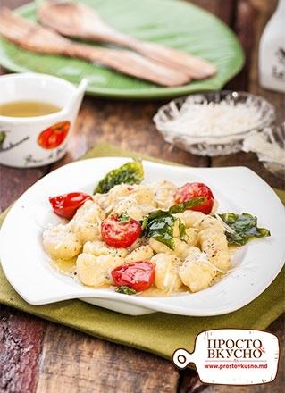 fed3104988e3 Просто&Вкусно - Mâncăruri - Gnocchi din cartofi cu ulei de busuioc