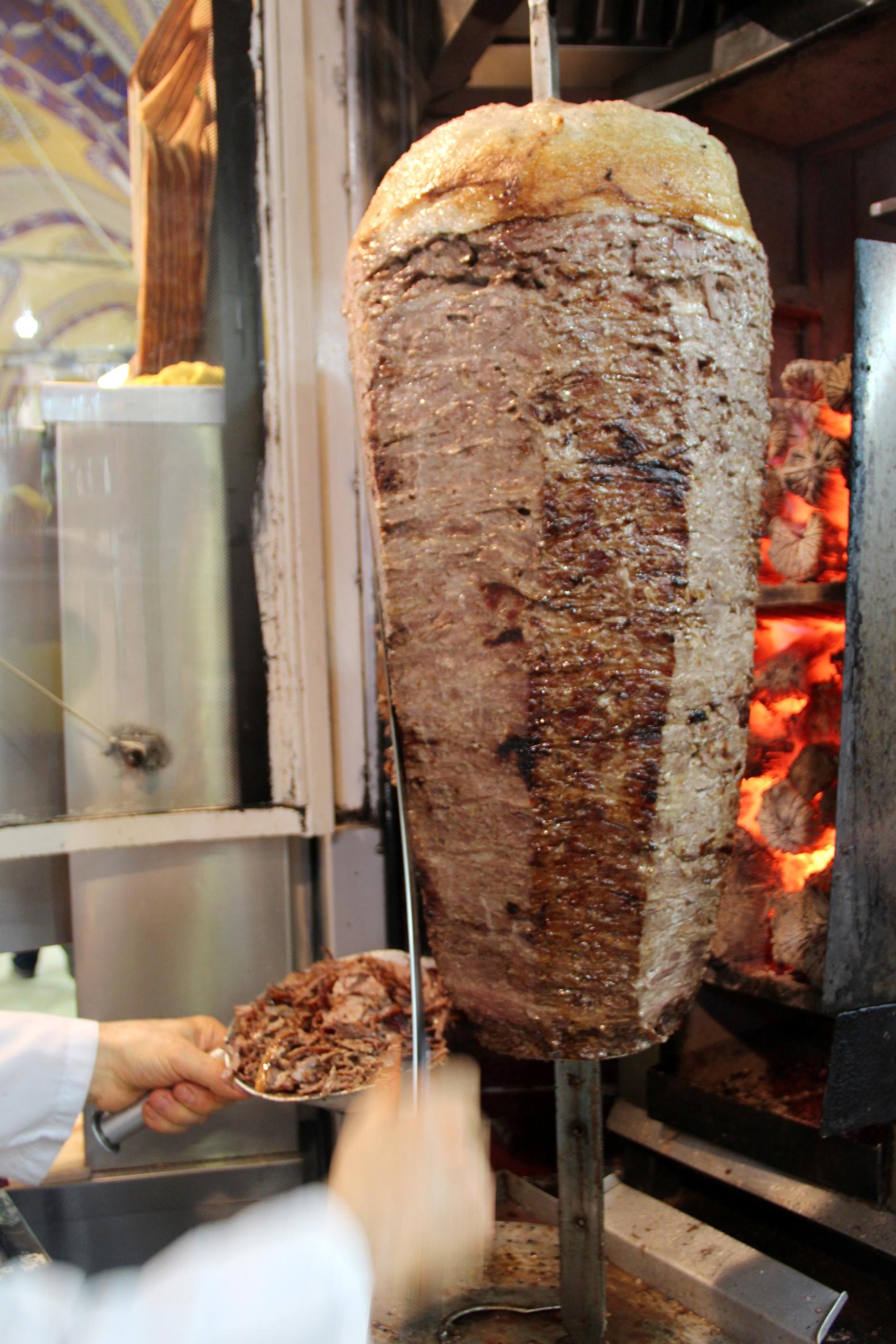 Шаурма как сделать мясо